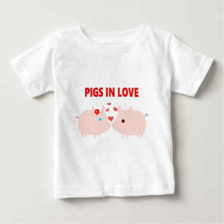 pigs in love baby T-Shirt