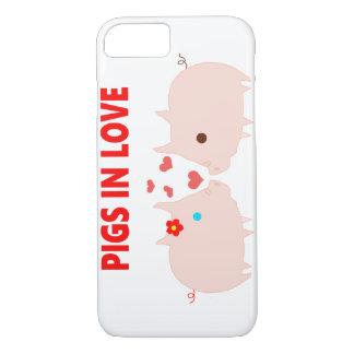 pigs in love Case-Mate iPhone case