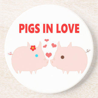 pigs in love coaster