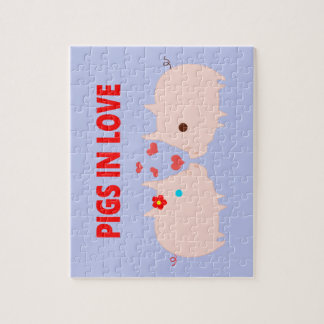 pigs in love jigsaw puzzle