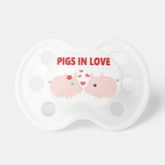 pigs in love pacifier