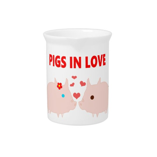 pigs in love pitcher