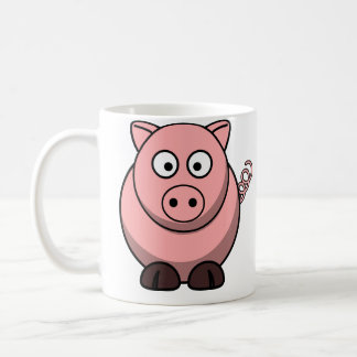 Pigs Make Me Happy Coffee Mug