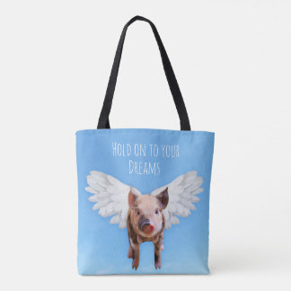 Pigs Might Fly Tote Bag