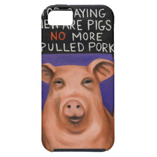 Pigs On Strike iPhone 5 Cover