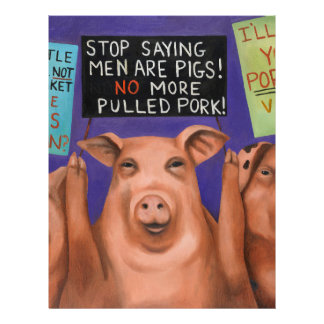 Pigs On Strike Letterhead
