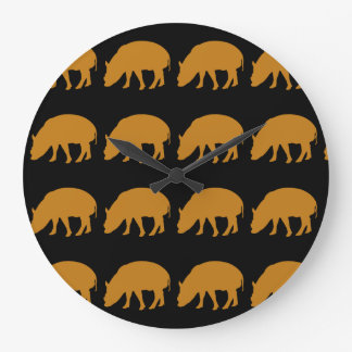 pigs wall clocks