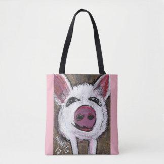 PigTote Bag  (Customizable)