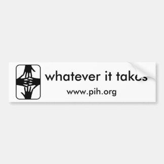 PIH Bumper Sticker