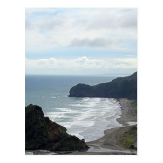 Piha Beach 4 Postcard