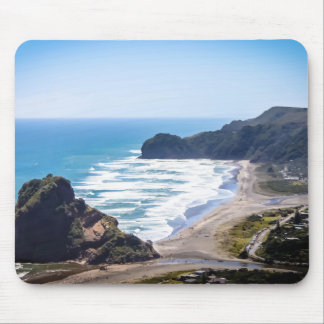 Piha Beach, West coast Auckland mouse mat Mouse Pad