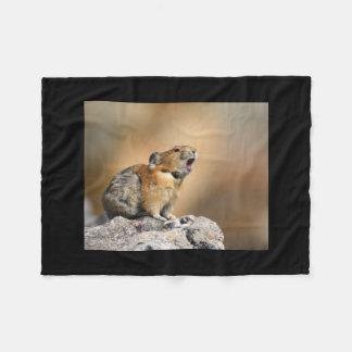 Pika Fleece Blanket