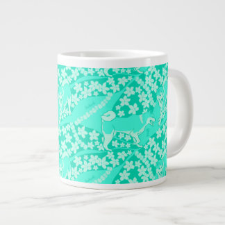 Pikake Blossom Beam Large Coffee Mug