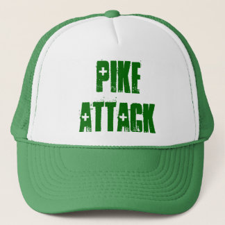 Pike Attack Trucker Hat