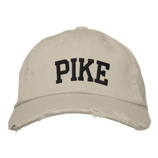 Pike Embroidered Hat