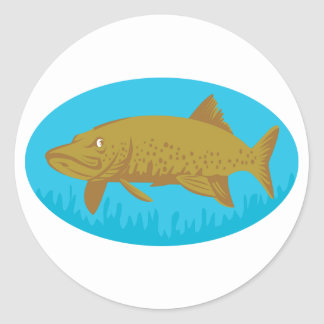 Pike Fish Stickers