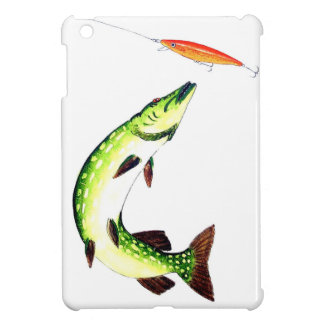 Pike fishing and fly fishing case for the iPad mini