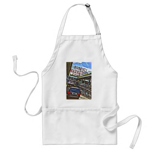 Pike Place Market Aprons
