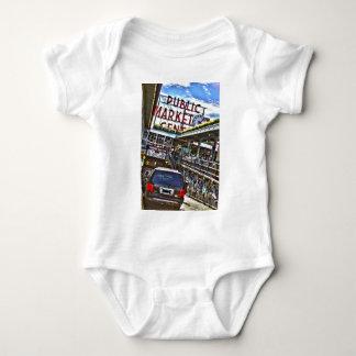 Pike Place Market Baby Bodysuit