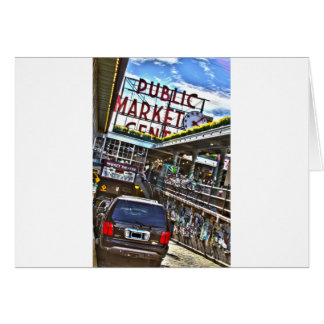 Pike Place Market Card