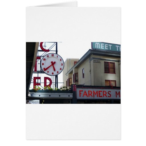 Pike Place Market Greeting Cards