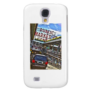 Pike Place Market Galaxy S4 Cover