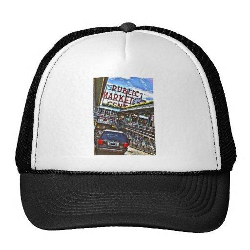 Pike Place Market Trucker Hats