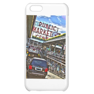 Pike Place Market iPhone 5C Cases