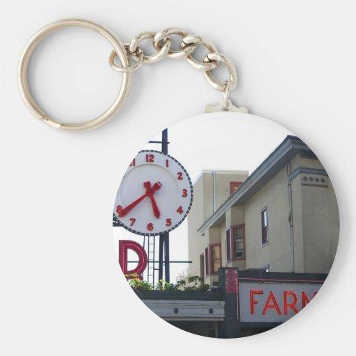 Pike Place Market Keychain