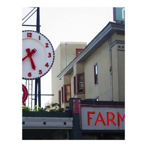 Pike Place Market Letterhead Design