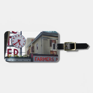 Pike Place Market Travel Bag Tag