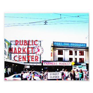 Pike Place Market Photo Print