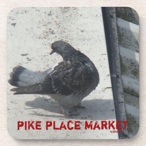 Pike Place Market  Pigeon Coaster