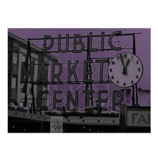 Pike Place Market Postcard