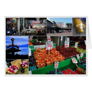 Pike Place Market, Seattle, Card