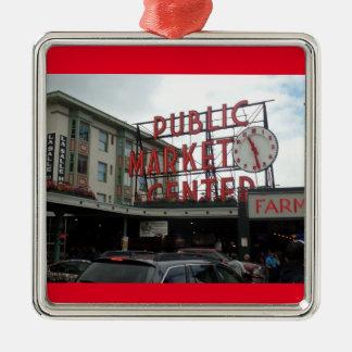 Pike Place Market Seattle Washington Ornament
