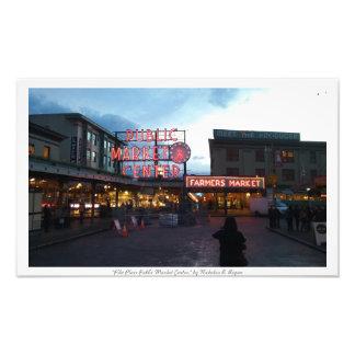 """""""Pike Place Public Market Center"""" Photo Prints"""