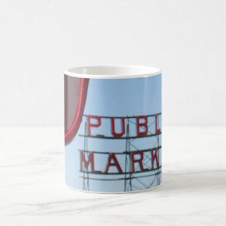 Pike Place Public Market Classic White Coffee Mug