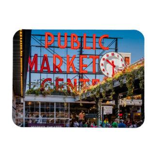 Pike Place Public Market Magnet