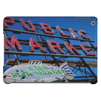Pike Place Public Market Sign iPad Air Cover
