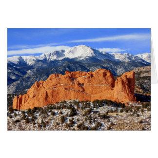 Pikes Peak, Colorado Springs Card