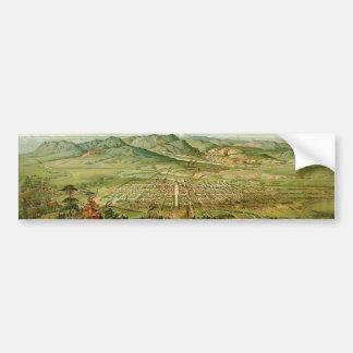 Pikes Peak, Colorado Springs, Colorado (1890) Bumper Sticker