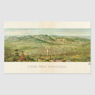 Pikes Peak, Colorado Springs, Colorado (1890) Sticker