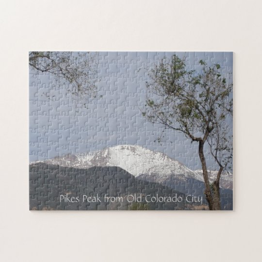Pikes Peak from Old Colorado City Jigsaw Puzzle