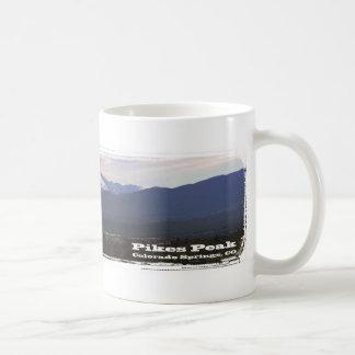 Pikes Peak panorama mug
