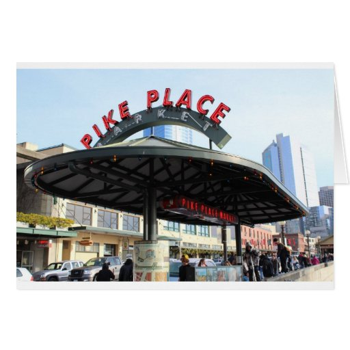 Pikes Place Market Seattle,WA Cards