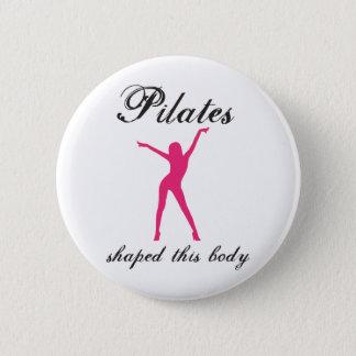 pilates 2 inch round button