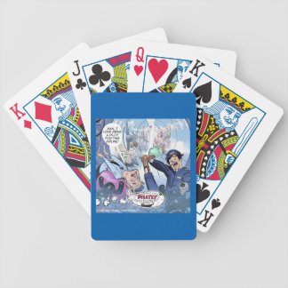 Pilates Airlines Rick London Funny Gifts Bicycle Playing Cards
