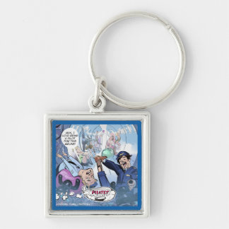 Pilates Airlines Rick London Funny Gifts Keychain