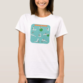 Pilates for coffee lovers T-Shirt